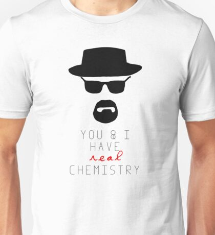 BREAKING BAD HEISENBERG Real Chemistry Unisex T-Shirt