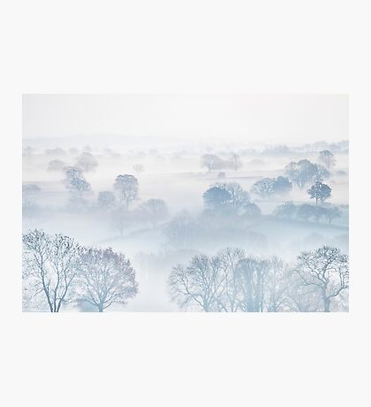 Ethereal Morning Mist Photographic Print