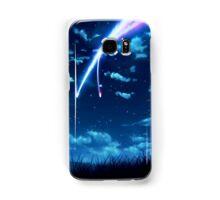Kimi No Na Wa Flying stars Samsung Galaxy Case/Skin