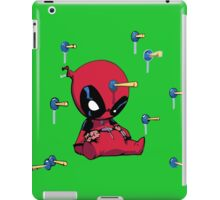 funny hero iPad Case/Skin