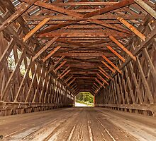 The Edgell Covered Bridge by Caleb Ward