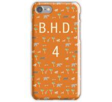 Pattern BHD 4 Darjeeling Limited & Hotel Chevalier iPhone Case/Skin