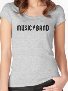 """Music Band – Buscemi, """"how do you do, fellow kids?"""" Women's Fitted Scoop T-Shirt"""