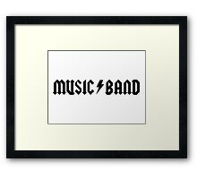 "Music Band – Buscemi, ""how do you do, fellow kids?"" Framed Print"