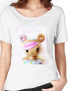 Hello Kawaii Women's Relaxed Fit T-Shirt