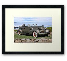 1937 Cadillac Fleetwood Convertible Sedan Framed Print