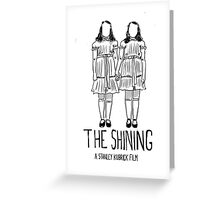 THE SHINING Greeting Card