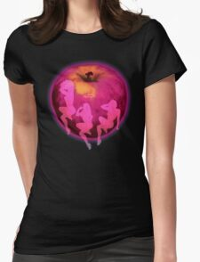 Pink Lady Womens Fitted T-Shirt