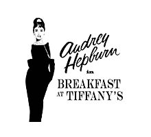 Breakfast at Tiffany's!  Photographic Print