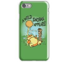 A Wild Snorax Appears iPhone Case/Skin