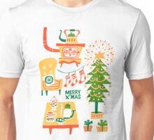 Christmas tree card Unisex T-Shirt