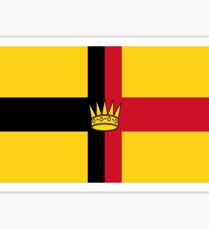 Cross of Sarawak Sticker