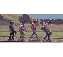 Stand By Me - A Pixel Art Tribute Photographic Print