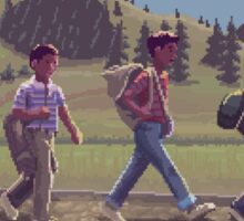 Stand By Me - A Pixel Art Tribute Sticker