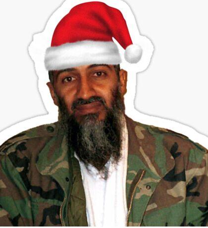 Merry Christmas! - Osama Bin Laden Sticker