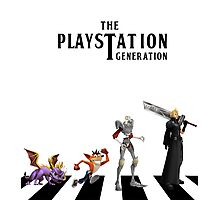 THE PLAYSTATION GENERATION Photographic Print