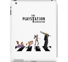 THE PLAYSTATION GENERATION iPad Case/Skin