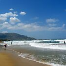 Beach Malia - Crete by ienemien