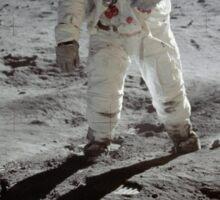 Buzz Aldrin on the moon | Space Sticker