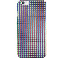 LCD TV Pixels iPhone Case/Skin