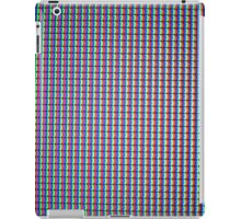 LCD TV Pixels iPad Case/Skin