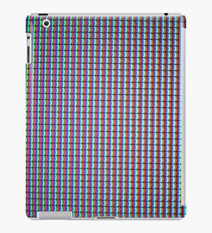 LCD TV Pixels iPad Case/Skin