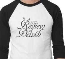 'The Review of Death' Beat-bug Logo Men's Baseball ¾ T-Shirt