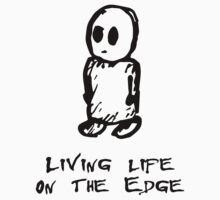 Life on the Edge Baby Tee
