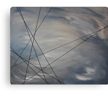 Death of a Muse - Without Resolution Canvas Print