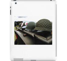 War Helmets  iPad Case/Skin