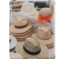 woman's hat iPad Case/Skin