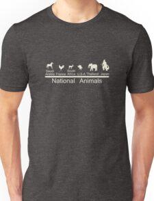 National animals Unisex T-Shirt