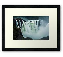 Iguaza Falls - No. 4 Framed Print