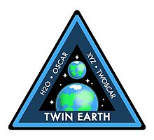 Twin Earth Photographic Print
