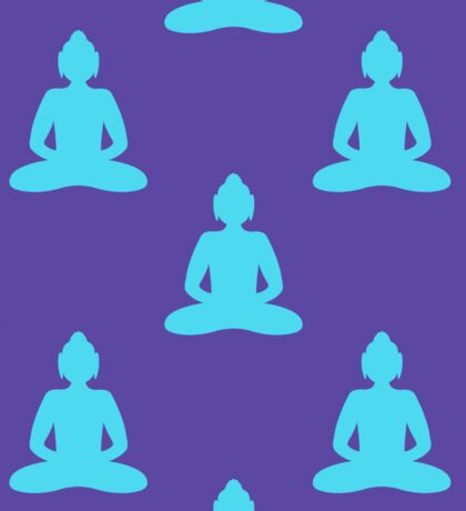 Buddha pattern Sticker