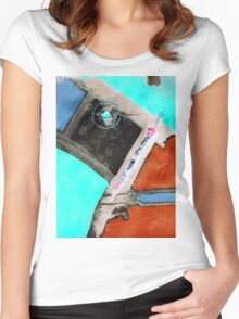 incoming Women's Fitted Scoop T-Shirt
