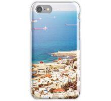 View on Coast of Haifa, Israel iPhone Case/Skin