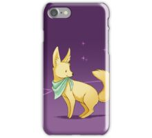 Neck Kerchief Fennec at Night iPhone Case/Skin