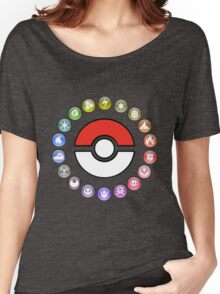 Pokemon Type Wheel v2 Women's Relaxed Fit T-Shirt