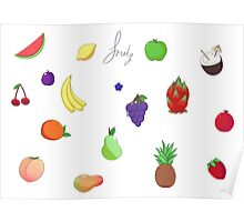Fruity Sheet Poster