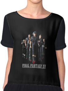 Final Fantasy XV - Black edition Chiffon Top