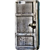 old door iPhone Case/Skin