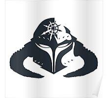 Chaos Space Marine Helmet Poster