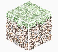 Minecraft Cube of Minecraft by Elliot Courtney