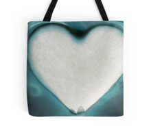 glass bottom heart Tote Bag