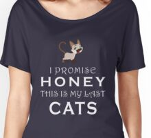 cat - my last cat - awesome Women's Relaxed Fit T-Shirt