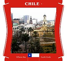 Chile - Where The Earth Ends Photographic Print