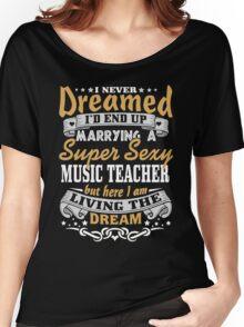 Music teacher T-shirt Women's Relaxed Fit T-Shirt