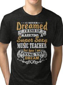 Music teacher T-shirt Tri-blend T-Shirt