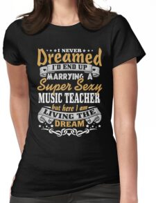 Music teacher T-shirt Womens Fitted T-Shirt